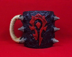 Caneca 3d Horda - World of Warcraft