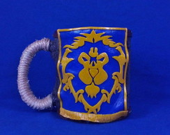 Caneca 3D Aliança- World of Warcraft