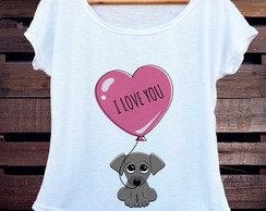 T-shirt Dog Love