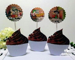 Topper para doces - chaves