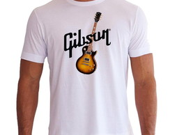 Camiseta Gibson (Guitarra Les Paul)