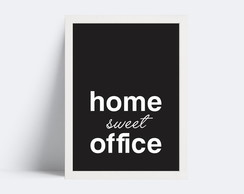 Quadro Home Sweet Office