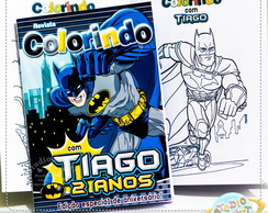 Revista de colorir Batman