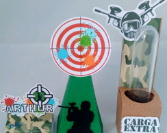 Kit Lembrancinha Personalizada Paintball