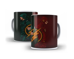 Caneca Arrow + The Flash