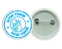 Botton 3,5 - New York City Boton Buton