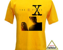 Camiseta Séries - Arquivo X, The X-Files, Mulder e Scully