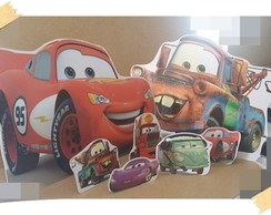Display festa infantil Cars Disney