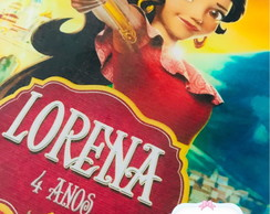 Papel arroz - Princesa Elena
