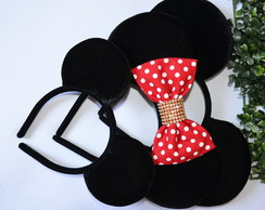 *Kit 3 Orelhas luxo 1 Minnie 2 Michey