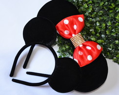 Kit 2 Orelhas de Luxo 1Minnie e 1 Mickey)