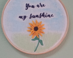 Quadrinho 'You are my sunshine'