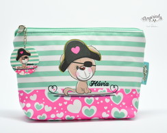 Necessaire Cachorrinho Pirata