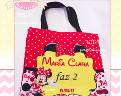 Sacola Eco Bag Minnie