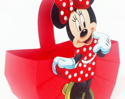 Cestinha Minnie e Mickey Mouse
