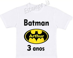 Camiseta Personalizada do Batman Camiseta do Batman