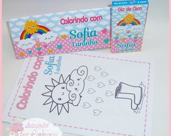 Kit de Colorir Chuva de Amor