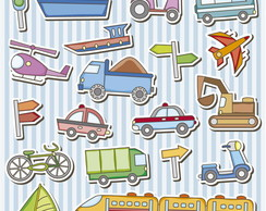 Kit Scrap Digital / Transportes