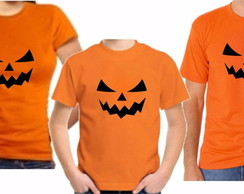 Kit 3 Camisetas Hallowen