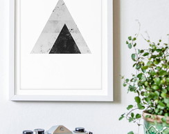 Poster Black Triangle
