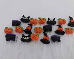 Toppers para Doces Dia das Bruxas - Halloween Biscuit