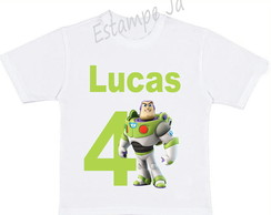 Camiseta Personalizada do Toy Story Camiseta do Buzz