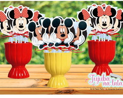 Pirulitos Personalizados Mickey e Minnie