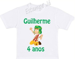Camiseta Personalizada do Chaves