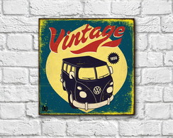 Placa decorativa - Vintage