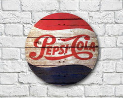 Placa decorativa - Pepsi-Cola