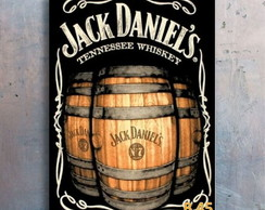 Placa decorativa - Jack Daniels