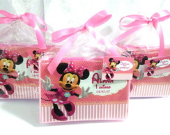 mini estojo Minnie rosa