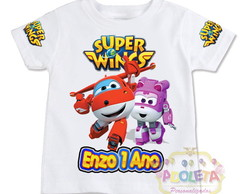 Camiseta Infantil Super Wings