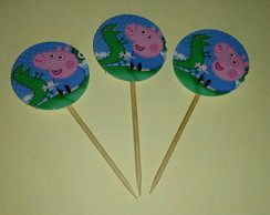 Toppers para Doces- George Pig