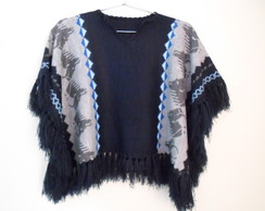 PONCHO MEXICANO INFANTIL