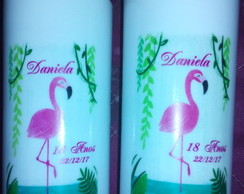 Copo Long Drink flamingo
