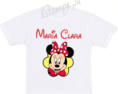 Camiseta Personalizada da Minnie Camiseta da Minnie