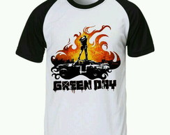 Camiseta Green Day Raglan