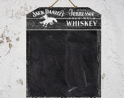 Quadro Negro Whisky Wood Black