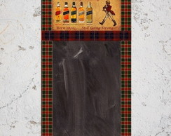 Quadro Negro Vintage - Johnnie Walker