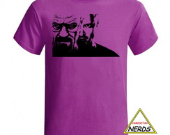 Camiseta Séries - Breaking Bad, Walter White, Heisemberg