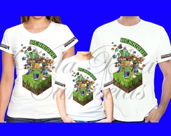Kit 3 Camisetas Minecraft 4