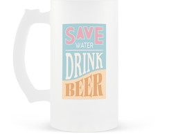 Caneca de Chopp Save Water