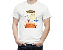 Camiseta de Serie Friends Símbolos