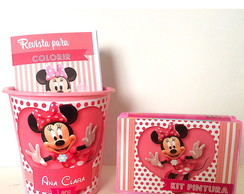 Kit Pintura Minnie Rosa