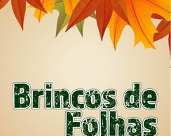 Brincos de Folhas, leaves earrings