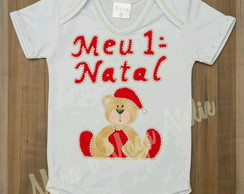 Body Bordado Natal