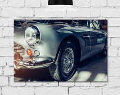 Placa Decorativa MDF Vintage Car 30x40cm