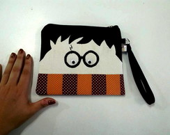 Necessaire Multiuso Harry Potter óculos preto