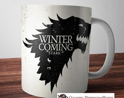 Caneca Casa Stark Game of Thrones